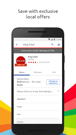 Just Eat - Order Food Delivery  screenshots 3