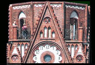 Photo: Der Turm der Lutherkirche in Świnoujście