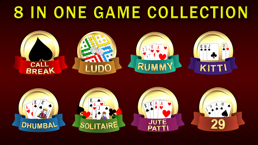 Callbreak, Ludo, Rummy, 29 & Solitaire Card Games Apk 1