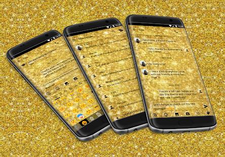 Glitter Glass SMS Zprávy - náhled