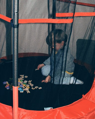 A Trampoline for our Autistic Toddler