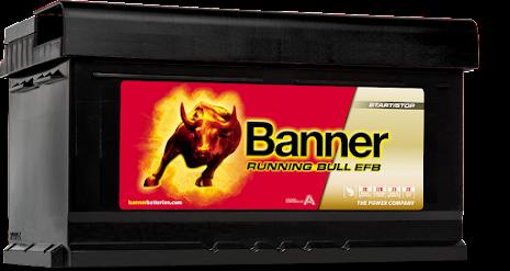 Banner Running Bull -EFB 12v 75Ah