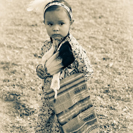 Faces of Our Future by Jade Snell - Babies & Children Child Portraits ( native american, native children, american indian, native, culture, cultural heritage )
