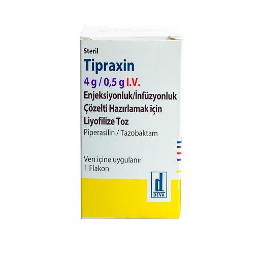 Piperacilina + Tazobactam Tipraxin 4g/0,5g I.V Deva