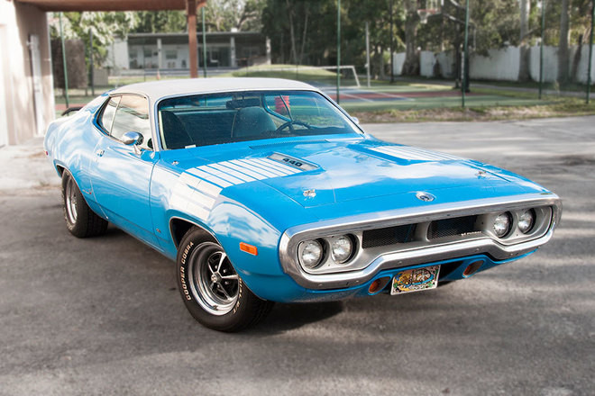 1972 Plymouth Road Runner Hire FL