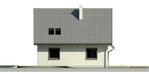 Dom przy Cyprysowej 9 - Elewacja lewa