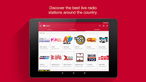 iHeartRadio Free Music & Radio Screenshot 9