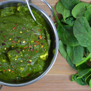 Palak Paneer Recipe   Indian Cheese & Spinach Curry.