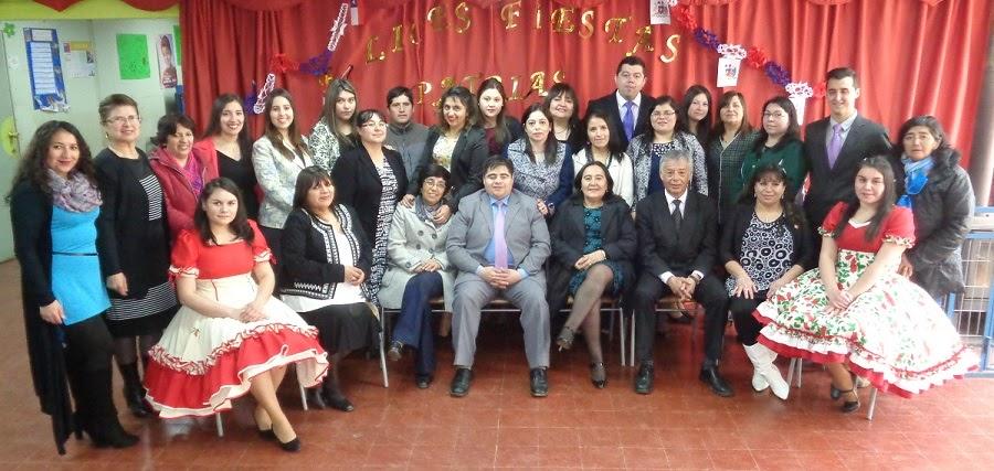 Escuela Pehuén 2016.