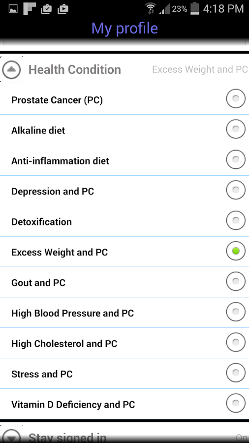 Prostate Cancer- screenshot