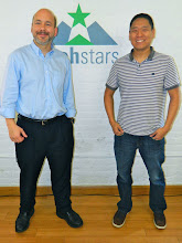 Photo: Prof. G. & Andrew Chang (10 yrs. after Andrew was in class)