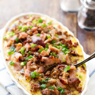 Egg Bake With Ham And Hash Browns Recipes.