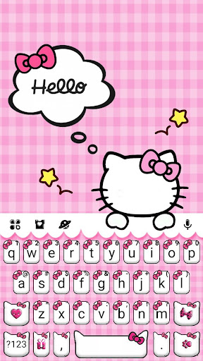 Download Girly Pink Kitty Keyboard Theme On Pc Mac With Appkiwi Apk Downloader