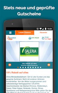 GutscheinApp- screenshot thumbnail