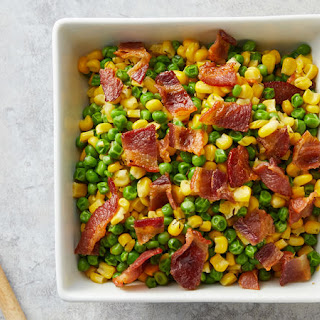 Peas and Corn with Thyme Butter Recipe