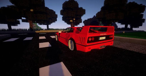 Super Car F. Mod for MCPE 4.2 screenshots 1