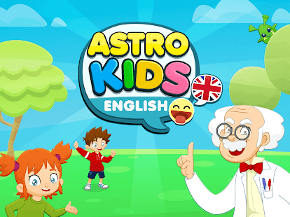 Astrokids English. Free English for kids Screenshot