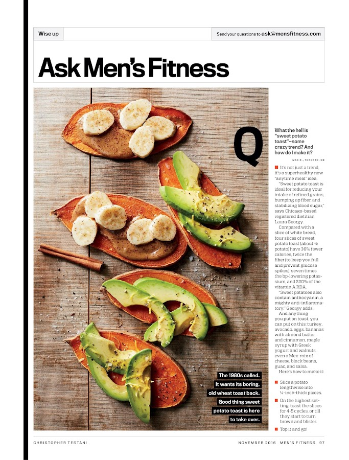 Men's Fitness- screenshot