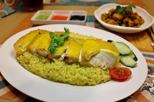 瑞記海南雞飯(民權東店)-內湖人有福了!新加坡美食進駐 獨特金黃油亮海南雞