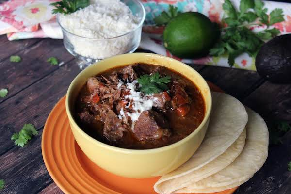 Carne Guisada - Slow Cooker (mexican Beef Stew)