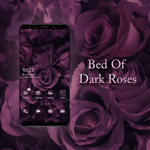 Bed Of Dark Roses Theme Aplicaciones En Google Play