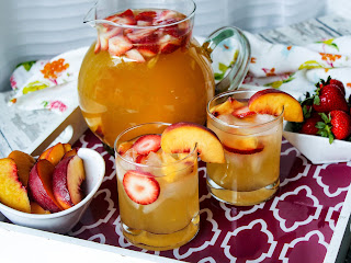 Texas Peach Sangria Recipe