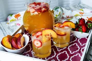 Texas Peach Sangria