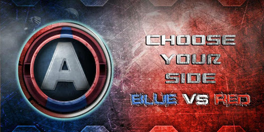 War of Red and Blue