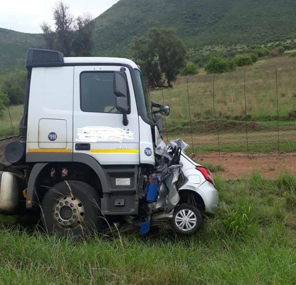 A 37-year-old man was killed instantly when he drove into an oncoming truck at Bela Bela in Limpopo.