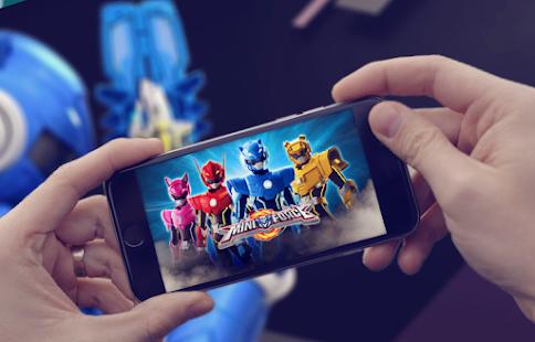 Volt Miniforce X Blue Robot Apk 1 4 Download Free Games