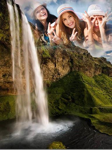 滝フォトフレーム