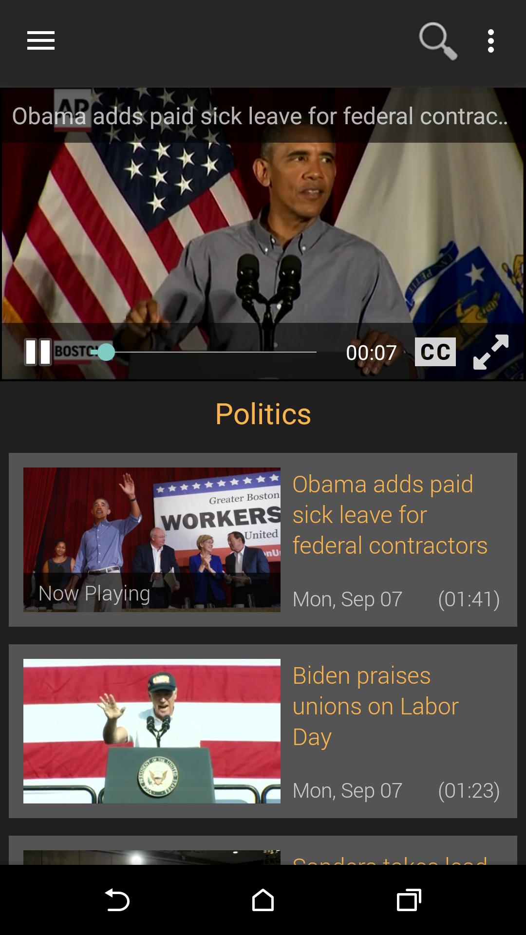 Washington Post Video screenshot #1