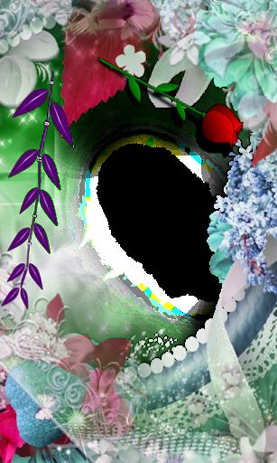 dna Photo flower Frames
