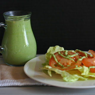 Avocado Buttermilk Green Goddess Dressing