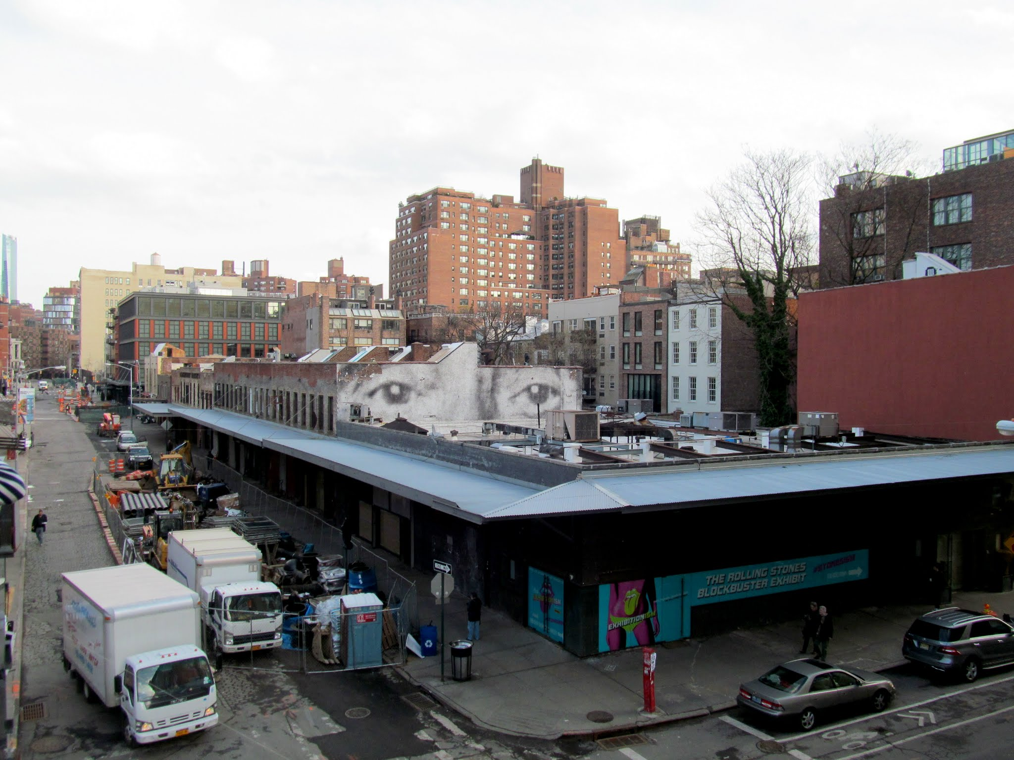 Photo: View from south end of the High Line