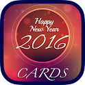New Year 2016 Cards & Greeting icon