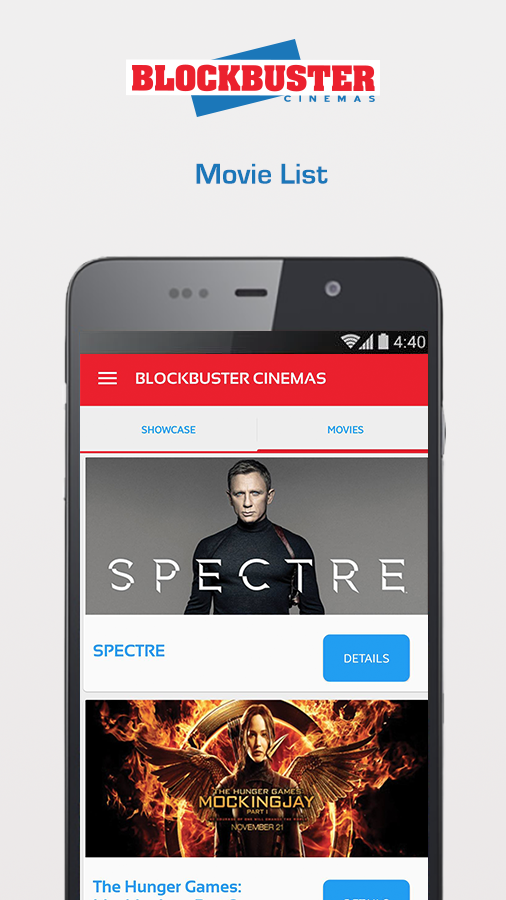 BlockBuster Cinemas- screenshot