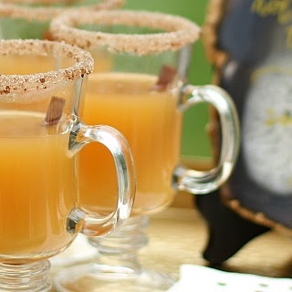 Spiced Apple Hot Toddy.