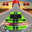 US Muscle car stunts 3D mega ramp car: impossible icon