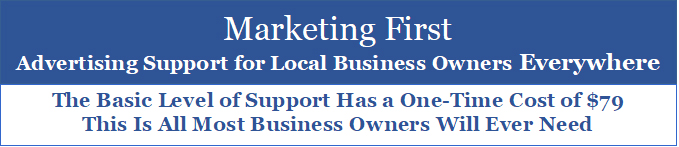 Advertising Support for Local Business Owners