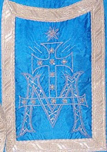 Photo: Bordado en ornamento litúrgico