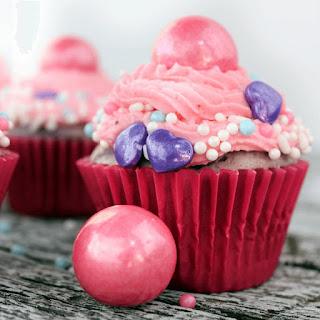 Bubblegum Cupcakes.