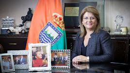 La alcaldesa de Gádor, Lourdes Ramos.