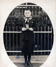 Photo: Fr. Jim's first Holy Communion   Holy Family Church  Bronx, NY  1945