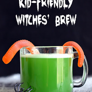 Kid-Friendly Witches' Brew Halloween Punch.