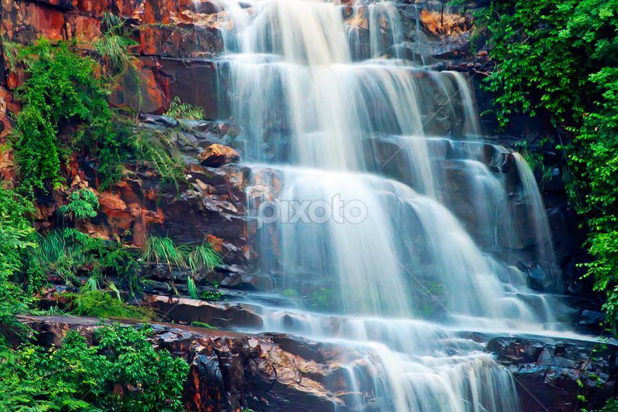 Papanasini @ Tirumala by Sandeep  Kumar - Nature Up Close Water ( papanasini @ tirumala )