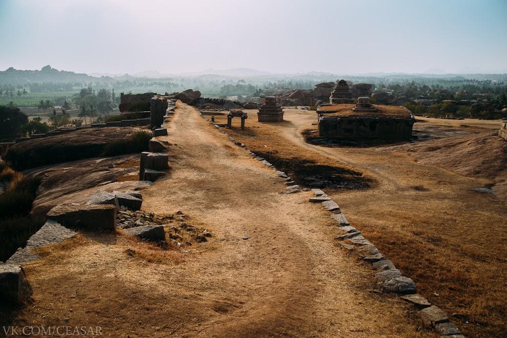 Храм Кришны, Хампи