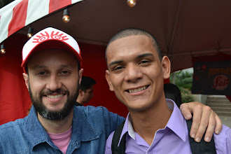Photo: Chego y Juan Felipe Arango listos para el Primavera