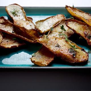 Potato Skin-Bacon Fat Chips.