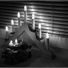 advent by Darko Kordic - Black & White Objects & Still Life